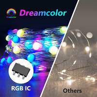 Tira de luces LED RGB, varios colores, wifi, app Tuya, control inteligente, sincronización de música, enchufe USB, voz de Alexa y Google Home
