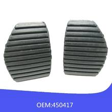 Cubierta de goma para embrague Freno de Pedal, para Peugeot Citroen 1007, 207, 208, 301, 307, 308, 508, C3, C4, C5, C6, C8, 1 par