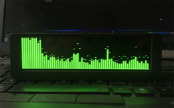 5.5-inch OLED Music Spectrum Display, Car Sound Control, Professional HiFi Spectrum