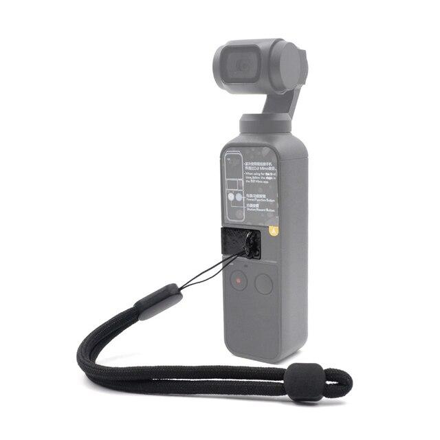 Correa de muñeca para DJI OSMO, cardán de bolsillo, eslinga para adaptador de teléfono, cubierta de interfaz, cordón para DJI OSMO Pocket 2, accesorios