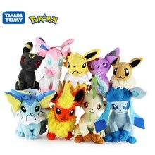 17-25cm Pokemon Pikachu Plush Toy Espeon Jolteon Umbreon Vaporeon Leafeon Flareon Anime Figure Plush Dolls Toy Kids best Gift