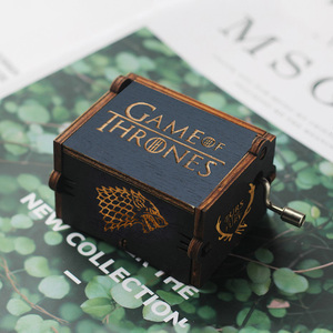 Wooden Hand Crank Game of Thro