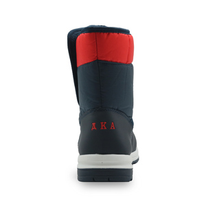 Image 4 - Apakowa Boys and Girls Waterproof Snow Boots Kids Winter Outdoor Mountaineering Skiing Shoes Students Mid Calf Warm Woolen Boots
