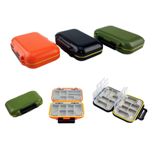 Supplies-Tool Fishing-Tackle-Box Hook-Up-Storage-Box Waterproof NEW