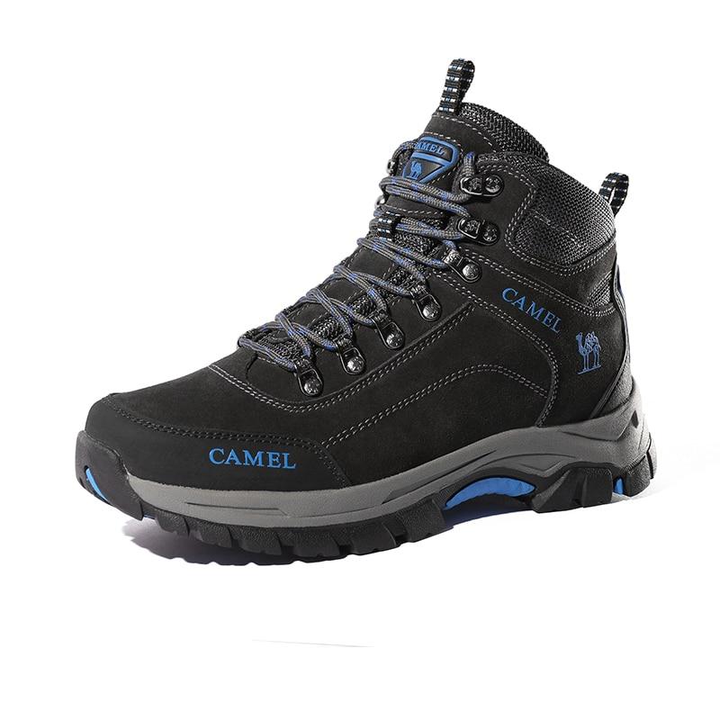 Image 5 - CAMEL Men Hiking Shoes Anti Slip Outdoor Tactical Shoes Walking  Trekking Climbing Sneakers Zapatillas Comfortable BootsHiking Shoes