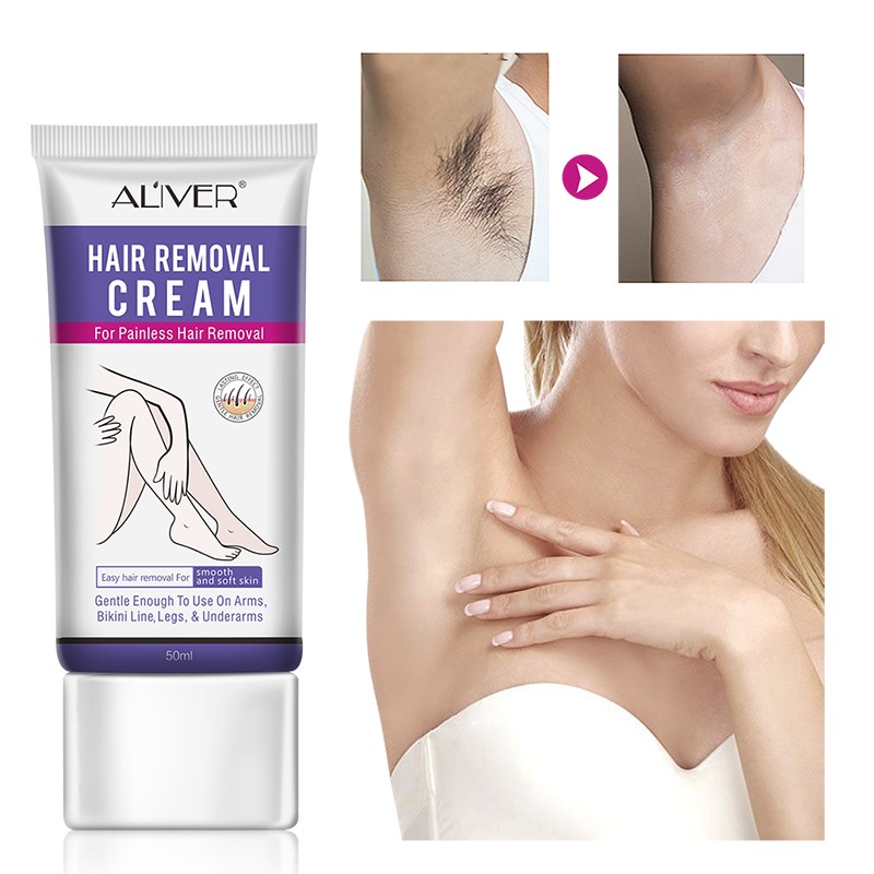 Aliver Depilatory Cream Body Painless Effective Hair Removal Cream