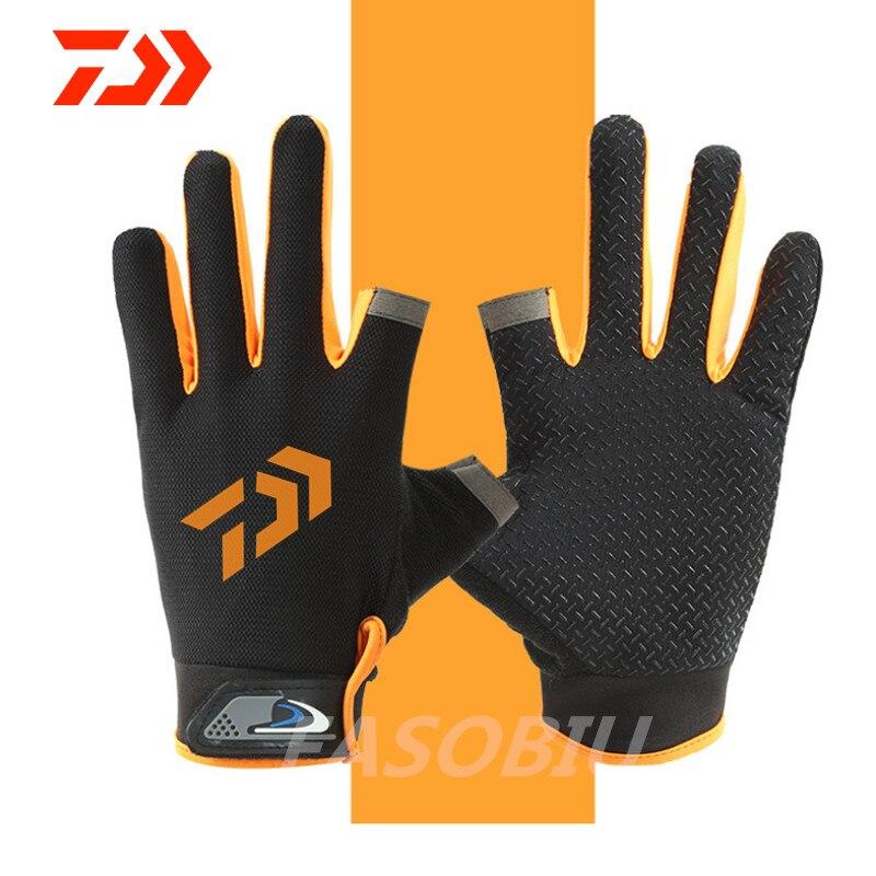 Новинка 2020 года: спортивные перчатки Daiwa с 3 пальцами, весенние хлопковые водонепроницаемые противоскользящие прочные перчатки для рыбалки|Перчатки для рыбалки|   | АлиЭкспресс