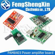 1pcs PAM8403 module digital power amplifier board miniature class D power amplifier board 2 * 3W high 2.5 ~ 5 v USB power supply