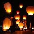 10 шт./лот «сделай сам», китайская небесная бумага, летающие пожелания, фонари, летающие свечи, лампы, украшения для рождества, свадьбы, дня ро...