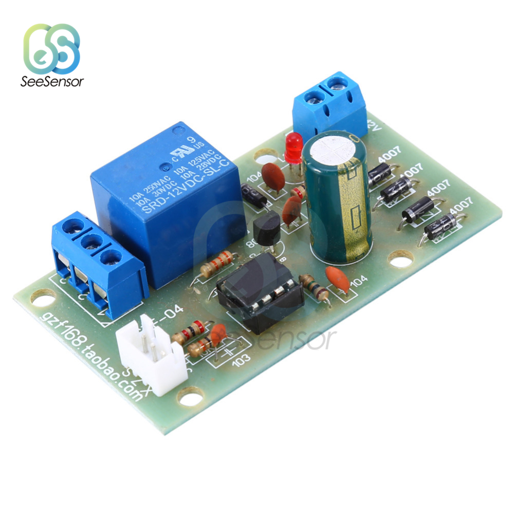 12V Liquid Level Controller Sensor Module Water Level Detection Sensor Fuel Flow Sensor Water Flow Control Switch Flowmeter