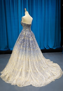 Image 3 - Женское свадебное платье без рукавов, маленькое платье подружки невесты со шлейфом для выпускного вечера
