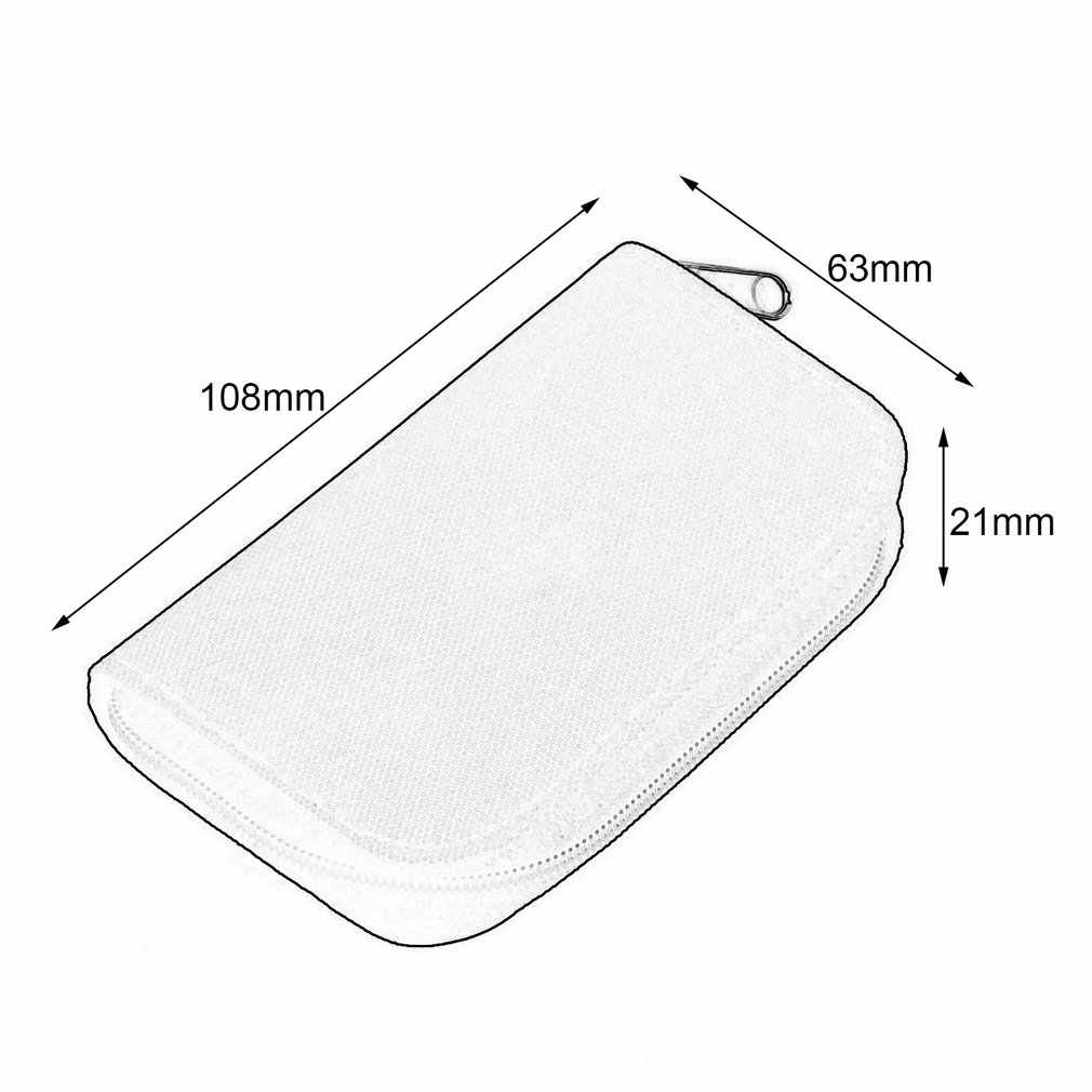 4 Colors SD SDHC MMC CF For Micro SD Memory Card Storage Carrying Pouch bag Box Case Holder Protector Wallet Wholesale Store