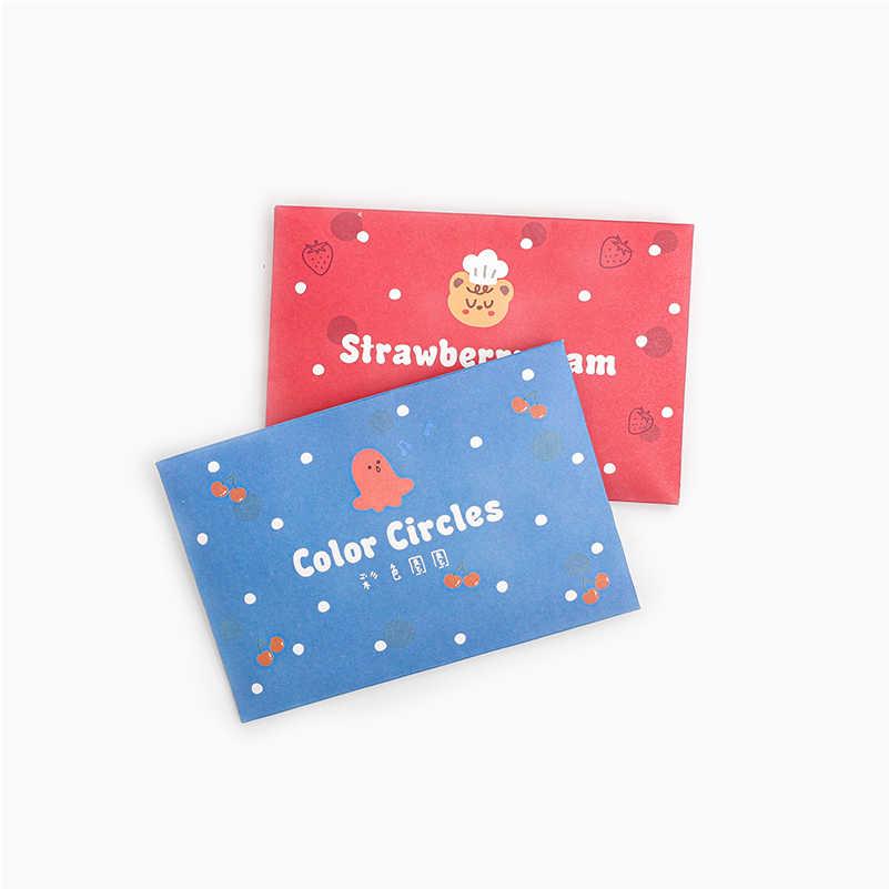 40 pcs หมีบิสกิต Series สมุดบันทึกสติ๊กเกอร์ชุดตกแต่ง Scrapbooking Stick ป้ายไดอารี่เครื่องเขียนอัลบั้มน่ารักซองจดหมายสติกเกอร์