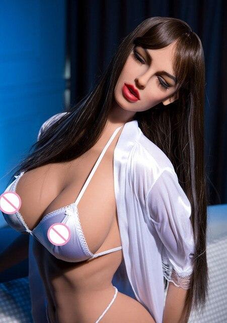 165cm #88 High quality super big breasts big butt full TPE and metal skeleton sex dolls mens real vaginal oral cat fart beauty
