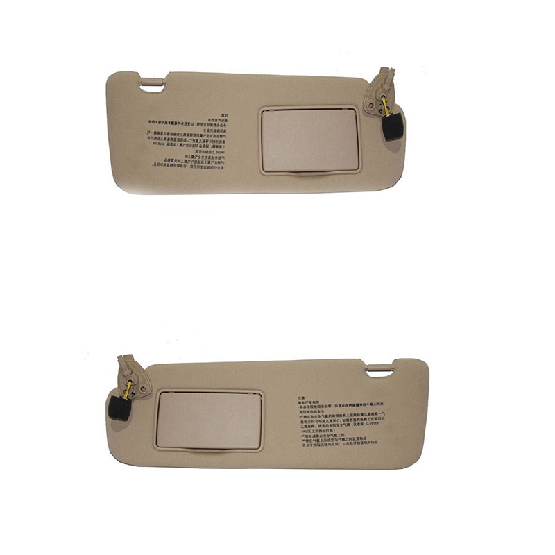 Assembly Sunshade Sun-Visor NFC 2006 2009 HYUNDAI 2008 for 2005/2006/2007/.. Sonata Beige title=