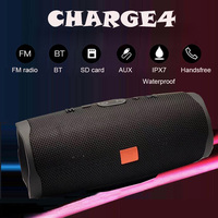 40w portable Bluetooth sound box Wireless column Bluetooth Speaker Charge4 outdoor sound bar subwoofer With TF FM music center