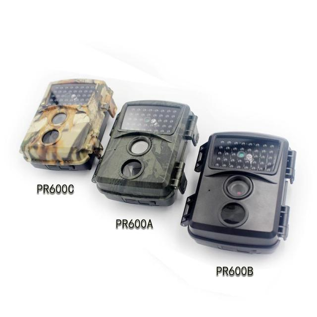 PR600 Hunting Camera 12MP 38 IR LED 3MP Color CMOS FHD 1080P Night Vision 0.8s Trigger Time Wildlife Cameras IP54 Waterproof New 6