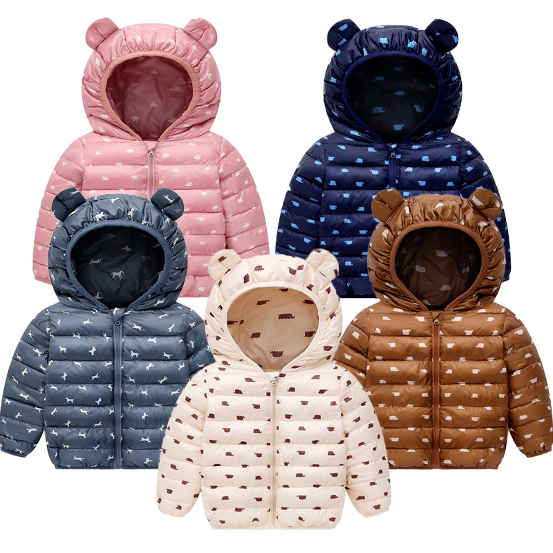 Jacket Snow-Wear Baby Snowsuit Winter Baby Parka Infant New Cotton Hooded for Kids