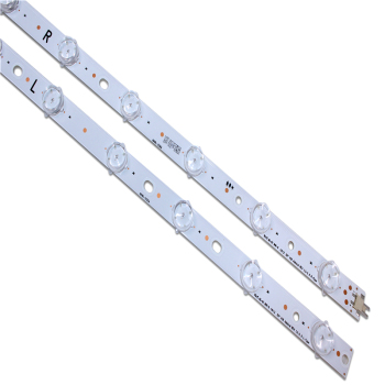 NEW 2pieces/set LED Backlight Strips for LG 50 V18 Admiral REV1.3-2 6 R/ L-type 6916l-3135A /3136A new 8pieces set led backlight strips for lg 50 v18 admiral rev1 3 2 6 r l type 6916l 3135a 3136a