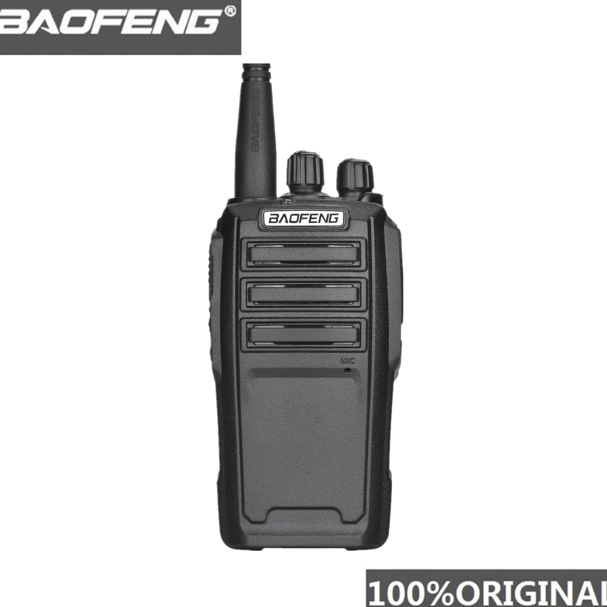 Baofeng UV-6 Walkie Talkie Long Range Two Way Radio 136-174/400-480MHz VHF UHF Dual Band Handheld Radio Transceiver Interphone