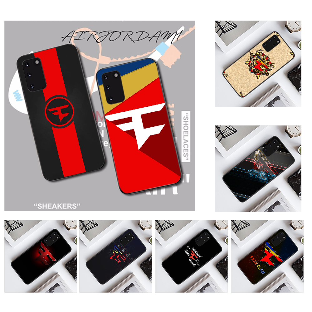 NBDRUICAI FaZe clan fan Customer High Quality <font><b>Phone</b></font> <font><b>Case</b></font> for <font><b>Samsung</b></font> S20 plus Ultra S6 <font><b>S7</b></font> edge S8 S9 plus S10 5G image