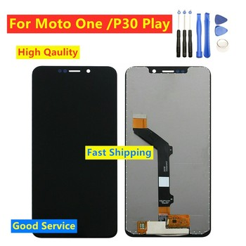 5.9 For Motorola Moto One LCD Display Touch Screen Digitizer For Moto One P30 Play XT1941-1 XT1941-3 XT1941-4 LCD Replacement image