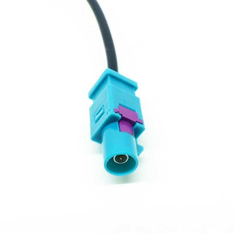 Evrensel Fakra DIN araba Stereo radyo anten adaptör direk anten adaptörü