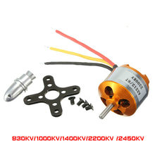 XXD A2212 2212 A2208 2208 Moteur Brushless 930KV 1000KV 1400KV 2200KV 2450KV 2700KV Pour Avion RC Multicopter Moteur(China)