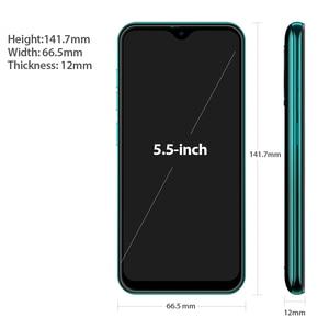 Image 4 - Ulefone Note 8P 4G Di Động Android 10 5.5 Inch GB RAM 16GB MT6737 Quad Core 8MP 2700MAh Mặt Mở Khóa Dual SIM Điện Thoại Thông Minh Toàn Cầu