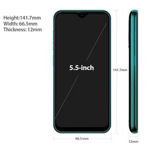 Image 4 - Ulefone Note 8P 4G Mobile Phone Android 10 5.5 inch 2GB 16GB MT6737 Quad Core 8MP 2700mAh Face Unlock Dual SIM Smartphone Global