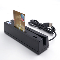 Plug And Play IC/PC/NFC smart EMV Chip credit card reader writer + all 3 tracks magnetic card reader device POS system