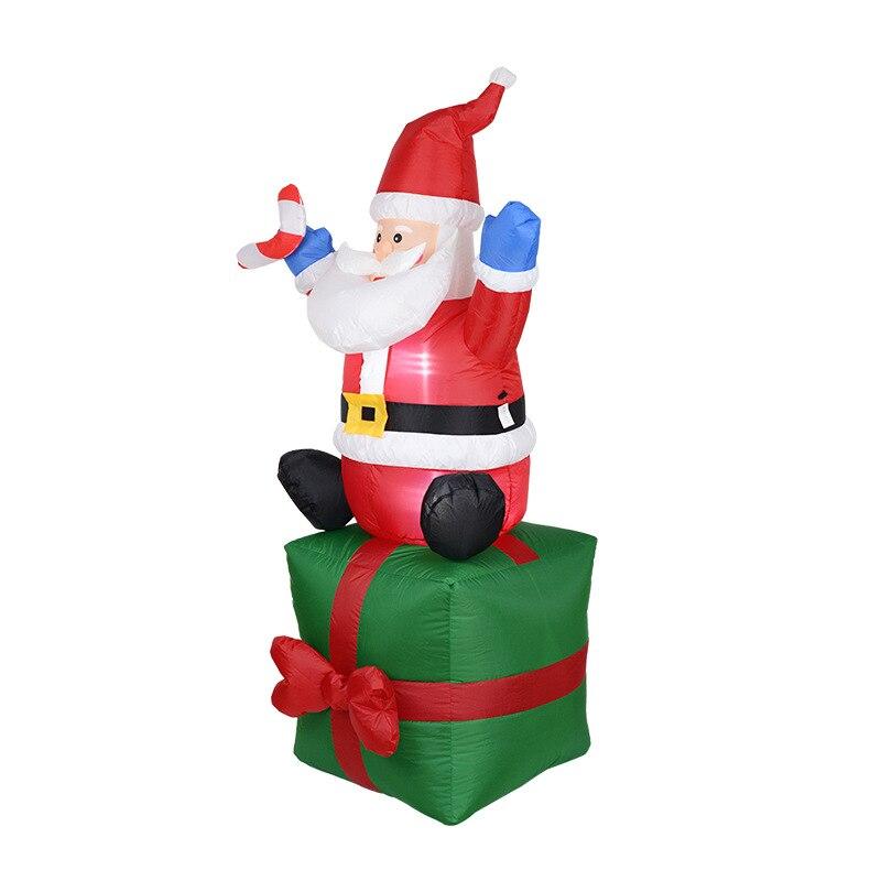 Foam Rose Bloemen Kerst Kous Hangers Decoratieve Xmas Tree Opknoping Ornament Thuis Party Holiday Decoraties Ambachten - 3