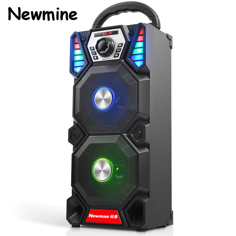 Hot Sale Bluetooth Speakers Portable Speakers Wireless Outdoor High-power Party Audio Bass Stereo Dual Audio Computer Speaker