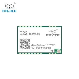 Image 3 - LORAWAN SX1268 LoRa TCXO 433MHz ebyte E22 400M30S Draadloze Transceiver SMD 30dBm IPEX Stempel Gat Lange Afstand rf Module 433 mhz