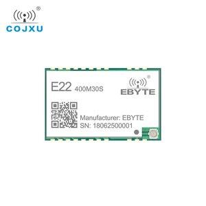 Image 3 - LORAWAN SX1268 LoRa TCXO 433MHz ebyte E22 400M30S Wireless Transceiver  SMD 30dBm IPEX Stamp Hole  Long Range rf Module 433 Mhz