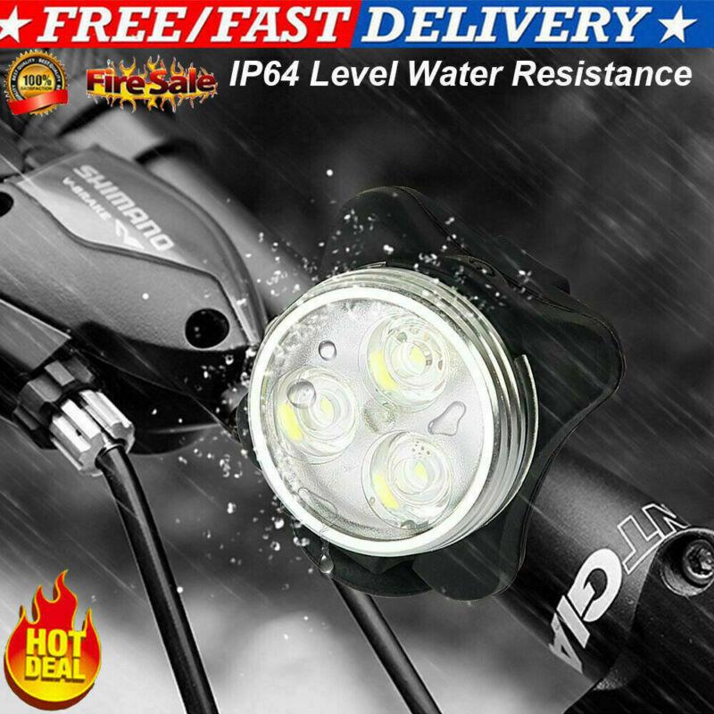 Rear Safety Flashlight Set Waterproof LED Lamp Bike Bicycle Front Head Light