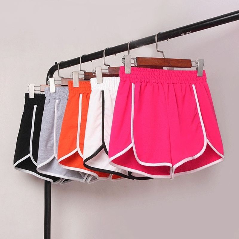 Korea 2020 Shorts Women Stylish High Waist Loose Casual Shorts Patchwork Body Fitness Workout Summer Shorts Female