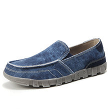 Men Shoes Sneakers New Loafers Breathable Canvas Large-Size 39-48
