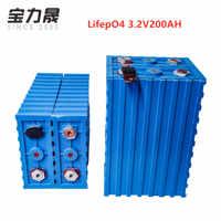 LiFePO4 Rechargeable Batteries 3.2V200ah cell NEW CALB SE200FI Plastic 12v200AH 24V for pack EV solar battery US EU AU Tax-free
