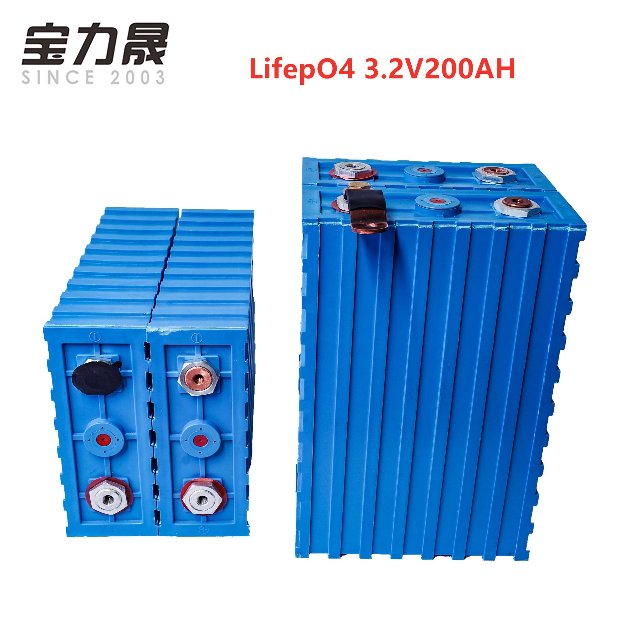 LiFePO4 baterías recargables 3.2V200ah celda nueva CALB SE200FI plástico 12v200AH 24V para el paquete EV batería solar US UE AU libre de impuestos
