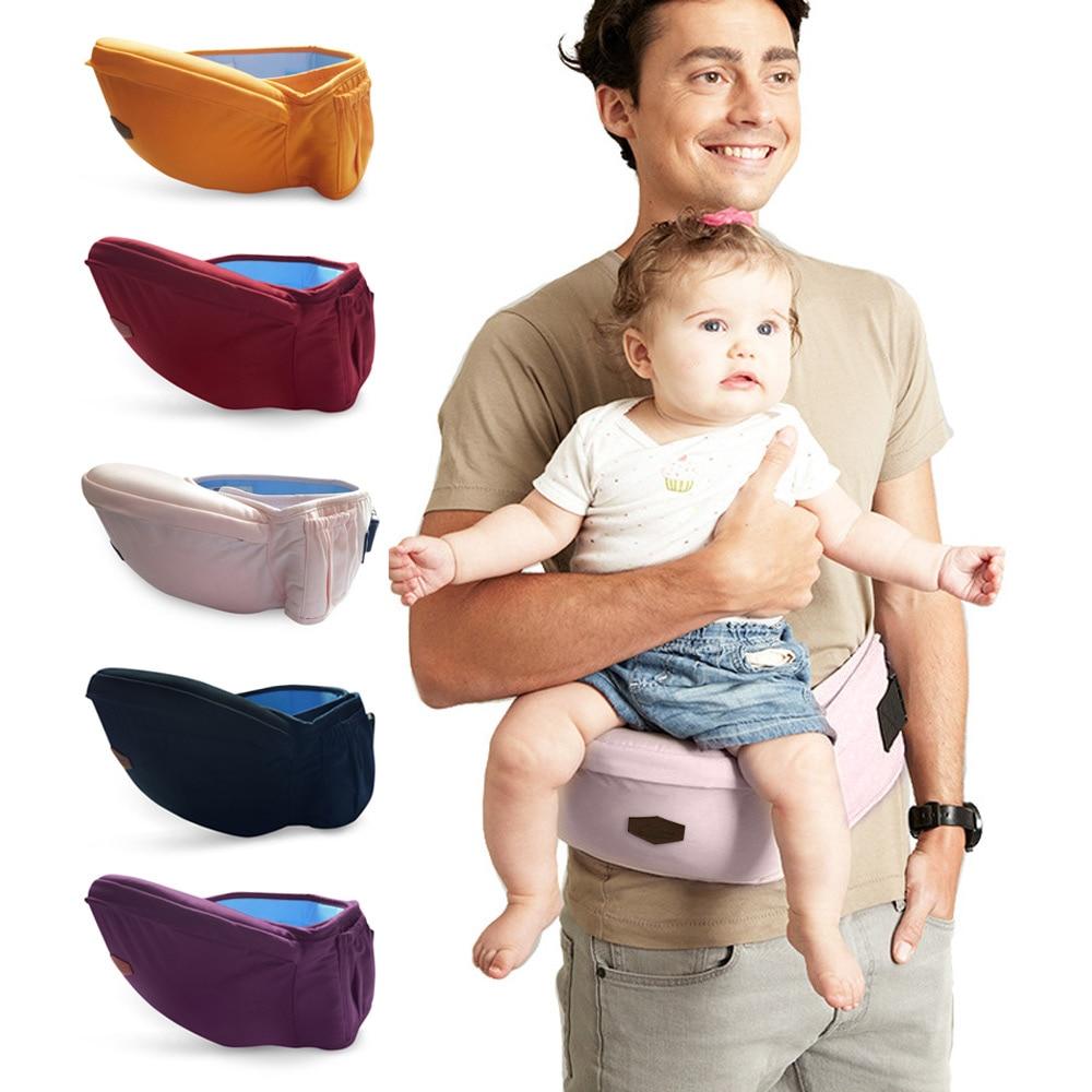 Beth Bear Baby Carrier Waist Stool Walkers Sling Hold Waist Belt Backpack Belt Kids Infant Breathable Anti-skidding Hip Seat