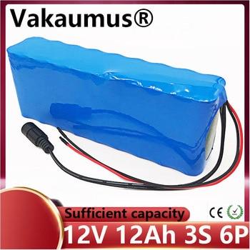 Batería de litio de 12v para coche, paquete de batería de 18650, batería recargable de 12v, bms integrado para herramienta eléctrica, lámpara LED de xenón