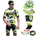 2020 Pro Team Велоспорт Джерси Набор Мужская Летняя одежда с коротким рукавом для велоспорта Mtb велосипедный костюм для верховой езды велосипедн...