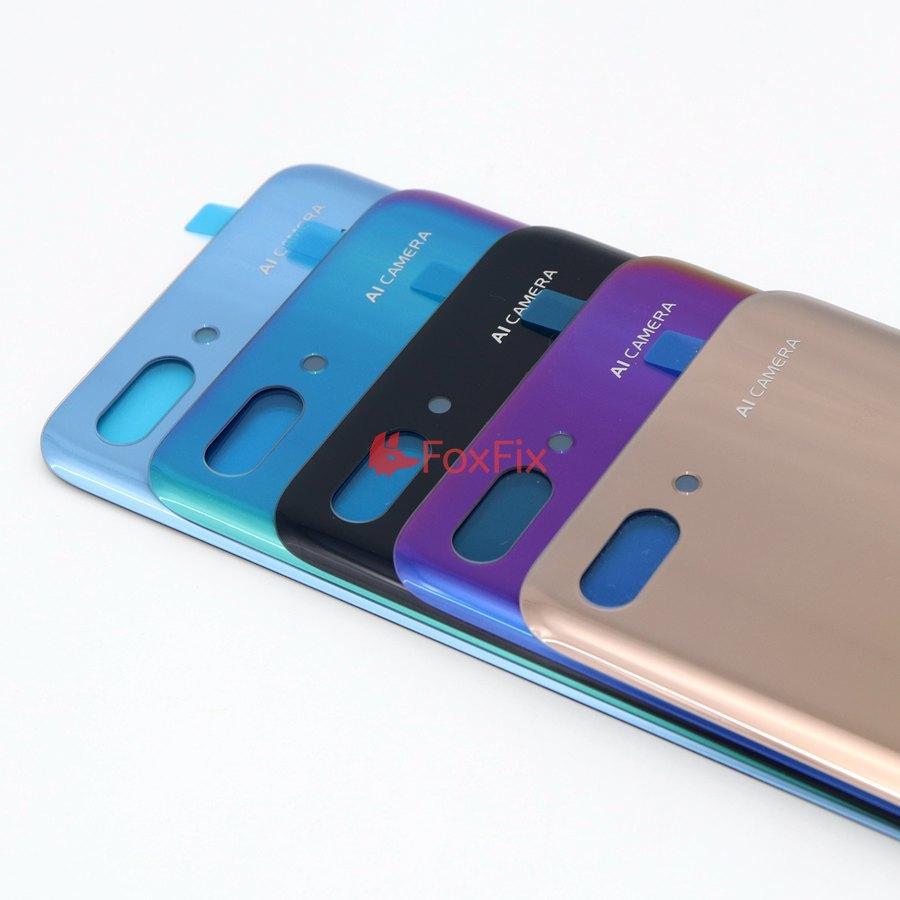 Заднее стекло для Huawei honor 10 задняя крышка корпус с задним объективом камеры для Honor 10 Батарейная дверь задняя крышка COL-L29 Замена
