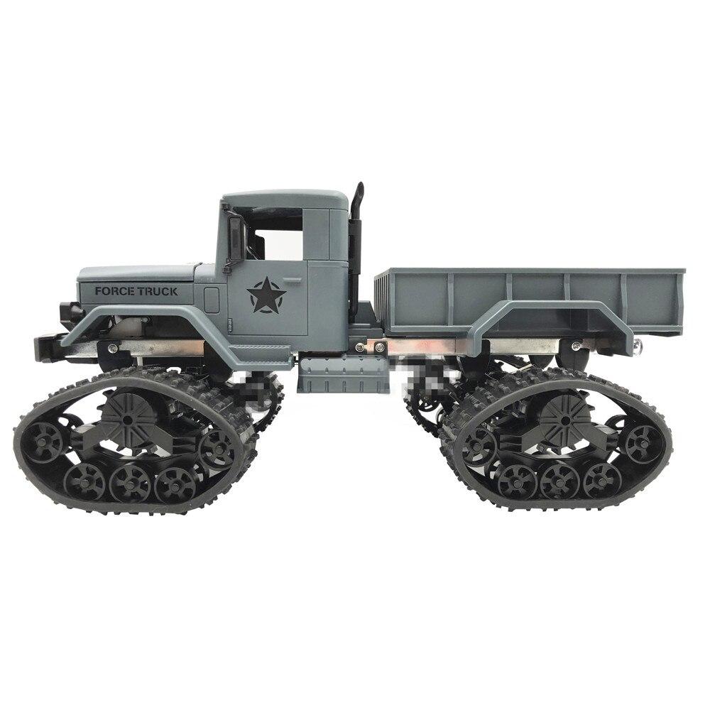 Acessórios do brinquedo do controle de hinst 4 pçs atualizar rodas pista peças de reposição para 1/16 wpl b14 c24 caminhão militar rc carro para dropshipping