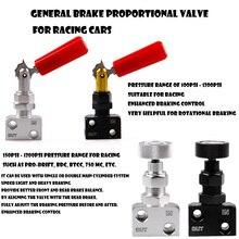 Screw-type Aluminum Brake Proportion Valve Adjustable Prop Bias Adjuster for Racing Car Styling New