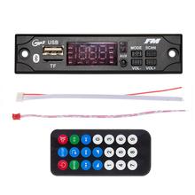MP3 WMA Wireless Bluetooth Decoder Board USB TF FM Radio MP3 Player Music  Module Car Audio 5V 12V With Remote Control