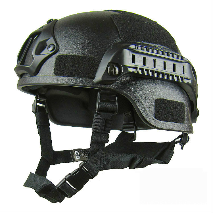 Tactical Quick Helmet, Adjustable ABS Helmet With Side Rail NVG Bracket For Paintball Shooting, Shooting, Outdoor Sports