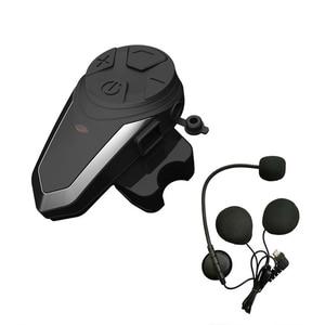 Image 4 - BTS3 Motorhelm Intercom 1200M BT S3 IPX7 Waterdichte Fm Headset Bluetooth 3 Rijders Groep Talk Helm Intercom