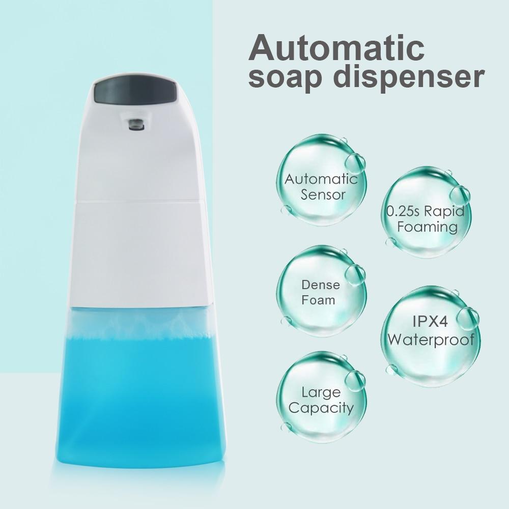 Dispenser Liquid Foam-Soap Hand-Washing-Machine Infrared-Sensor Intelligent-Foam Touchless
